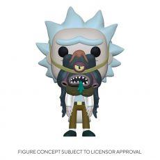 Rick & Morty POP! Animation vinylová Figure Rick w/ Glorzo 9 cm