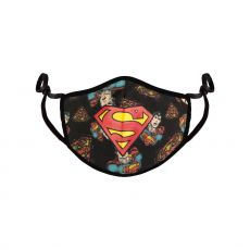 Superman Face Mask Comic Logo