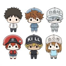 Cells at Work! Chokorin Mascot Series Trading Figure 6-Pack 5 cm