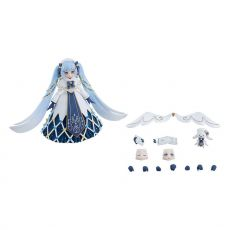 Character Vocal Series 01: Hatsune Miku Figma Akční Figure Snow Miku: Glowing Snow Ver. 14 cm