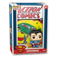 DC Comics POP! Comic Cover vinylová Figure Superman Akční Comic 9 cm