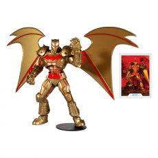 DC Multiverse Akční Figure Batman Hellbat Suit (Gold Edition) 18 cm