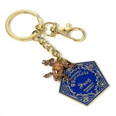 Harry Potter Keychain Chocolate Frog (gold plated)