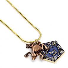 Harry Potter Přívěsek & Náhrdelník Chocolate frog (gold plated)