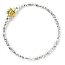 Harry Potter Slider Náramek Golden Snitch 19 cm (Sterling Silver)