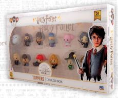 Harry Potter Toppers 4 cm 12-Packs Sada (6)