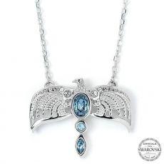 Harry Potter x Swarovski Náhrdelník & Talisman Diadem (Sterling Silver)