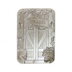 Jurassic Park Replika Metal Entrance Gates (silver plated)