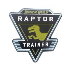 Jurassic World Pin Odznak Raptor
