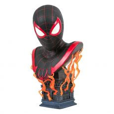 Marvel Gamerverse Legends in 3D Bysta 1/2 Miles Morales 25 cm
