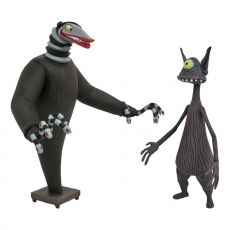 Nightmare before Christmas Akční Figures 2-Pack Creature under the Stairs & Cyclops 18 cm