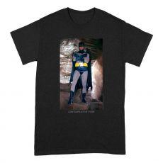 Batman Tričko Contemplative Pose Velikost L