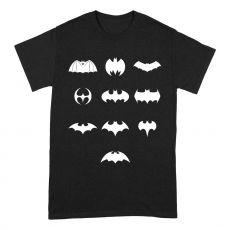 Batman Tričko Logo Evolution Velikost L