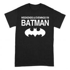 Batman Tričko Weekends Velikost S