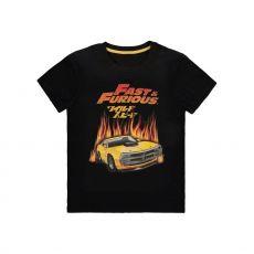 Fast & Furious Tričko Hot Flames Velikost XL