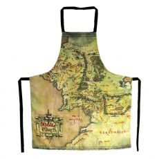 Lord of the Rings cooking Zástěra The Middle Earth Map