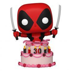Marvel Deadpool 30th Anniversary POP! vinylová Figure Deadpool in Cake 9 cm