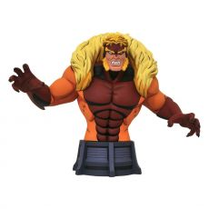 Marvel X-Men Animated Series Bysta Sabretooth 15 cm
