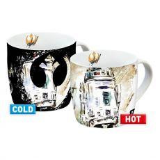 Star Wars IX Heat Měnící Hrnky R2-D2 Case (6)