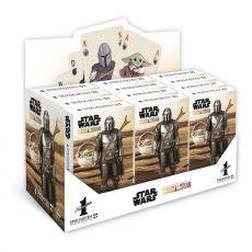 Star Wars The Mandalorian Number 1 Playing Karty Display (12) Německá Verze