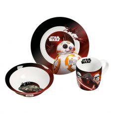 Star Wars VII Snídaňové nádobí Sets Episode VII Case (6)