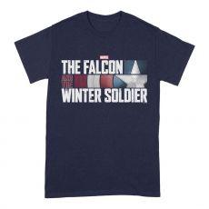 The Falcon and the Winter Soldier Tričko Akční HR Logo Velikost XL