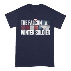The Falcon and the Winter Soldier Tričko Akční HR Logo Velikost L