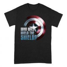 The Falcon and the Winter Soldier Tričko Wield The Shield Velikost XL