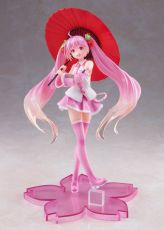Vocaloid PVC Soška Sakura Miku 2nd Season New Written Japanese Umbrella Ver. 20 cm