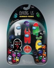 Among Us Mini Figures 5-Pack Crewmates Display (6)