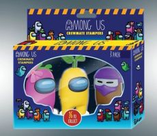 Among Us Stamps 3-Pack Crewmates Display (12)