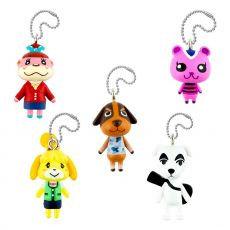 Animal Crossing Danglers Přívěsky na klíče 3 cm Mystery Capsule Display (12)