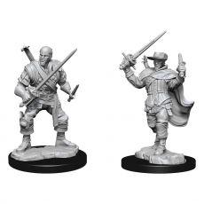 D&D Nolzur's Marvelous Miniatures Unpainted Miniatures Human Bard Male Case (2)