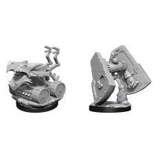 D&D Nolzur's Marvelous Miniatures Unpainted Miniatures Stone Defender & Oaken Bolter Case (2)