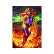 DC Comics Art Print Starfire 46 x 61 cm - unframed