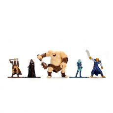 Dungeons & Dragons Nano Metalfigs Kov. Mini Figures 5-Pack Medium Pack B 4 cm