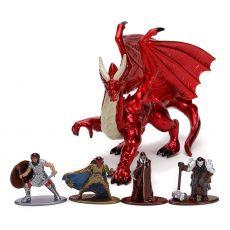 Dungeons & Dragons Nano Metalfigs Kov. Mini Figures 5-Pack Deluxe Pack 4 cm