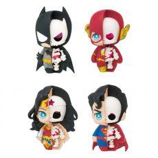 Justice League Kaitai Fantasy Figures 6 cm Sada (4)