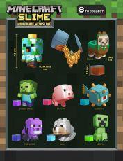 Minecraft Mini-figures with Slime 5 cm Display (18)
