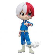 My Hero Academia Q Posket Mini Figure Shoto Todoroki Ver. B 14 cm