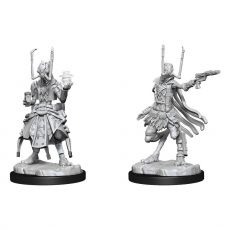 Starfinder Battles Deep Cuts Unpainted Miniatures Shirren Technomancer Case (2)