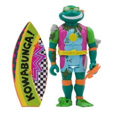 Teenage Mutant Ninja Turtles ReAction Akční Figure Sewer Surfer Michelangelo 10 cm