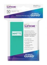 Ultimate Guard Supreme UX Sleeves Standard Velikost Matte Turquoise (50)