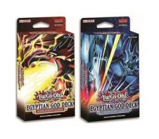 Yu-Gi-Oh! Structure Deck Egyptian God Deck: Obelisk/Slifer Display (8) Anglická Verze
