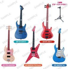 BanG Dream! Trading Figure 10 cm Guitar & Bass Kolekce Sada (6)