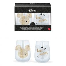 Disney Crystal Glasses 2-Packs Case Mickey Mouse (6)