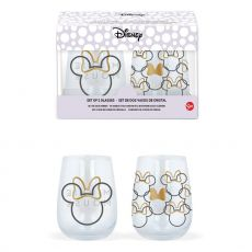 Disney Crystal Glasses 2-Packs Case Minnie Mouse (6)