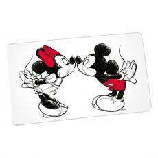 Disney Cutting Board Mickey Kiss Sketch