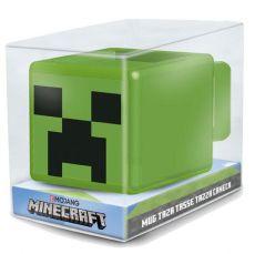 Minecraft 3D Hrnek Creeper Face
