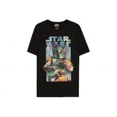 Star Wars Tričko Boba Fett Plakát Velikost L